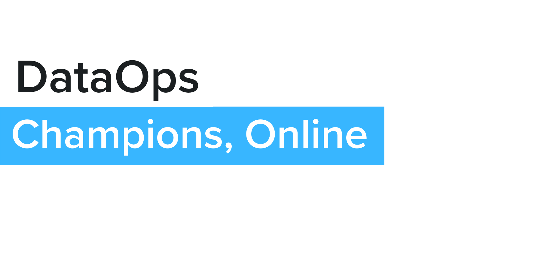 DataOps US - February 2 - 4, 2021